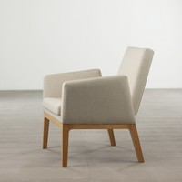 'Trident' Armchair in Oak - Seating