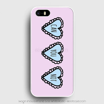 Pink Can You Not Tumblr iPhone 5s Case, iPhone 5 Cases