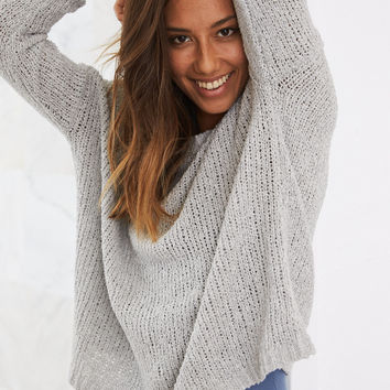 Aerie Surf Sweater, Medium Heather