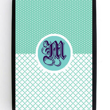 Kindle Fire Custom Monogram Personalized Hard Snap by KustomCases