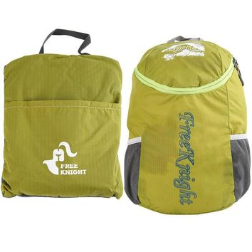 Green Unisex Ultralight Waterproof Hiking Bag
