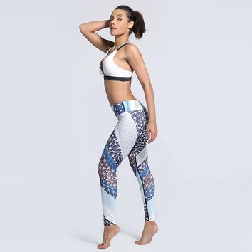 Yoga Pants Outfit 3D Printed Gym Pants Women Plus Size 3XL XXL