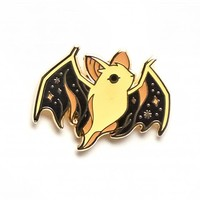 Ghost Bat Pin (Glow-in-the-Dark)