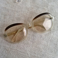 Vintage eyeglasses, frame, vintage, Accessories, Eyewear, glasses altered, geek, geek geekery, spooky, My wealth