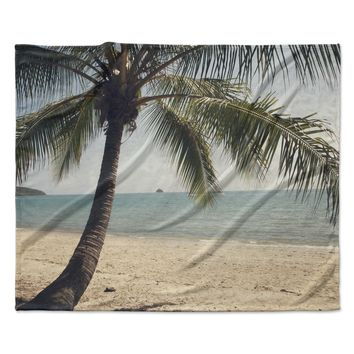 "Catherine McDonald ""Tropic of Capricorn"" Ocean Photography Fleece Throw Blanket"