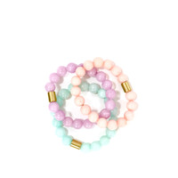 Sweet Pastels Beaded Bracelet