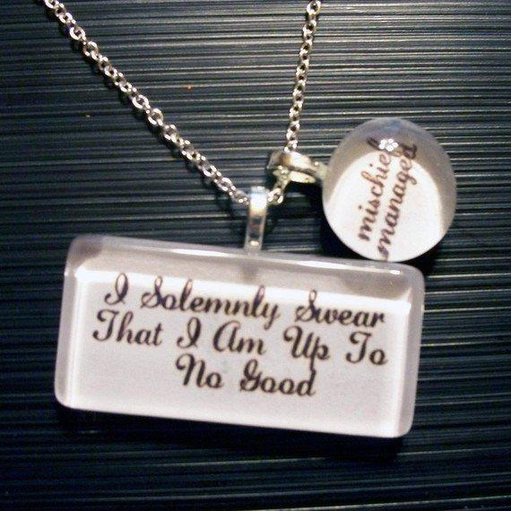 NEW Solemnly Swear Necklace by trophies on Etsy