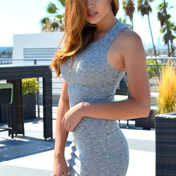 Donna Ribbed Dress