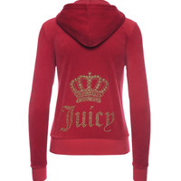 LOGO VELOUR JUICY CROWN ROBERTSON JACKET