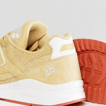 New Balance 530 Suede Trainers In Beige M530VCC at asos.com