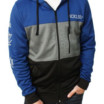 Young & Reckless Men's Triple Divide Full Zip Hoodie