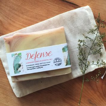 Defense Handcrafted Soap Bar