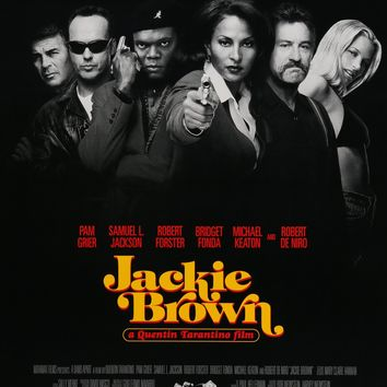 "Jackie Brown (1997) Vintage Advance Movie Poster - 27"" x 40"""