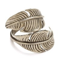 SunaharA Malibu Feather Wrap Ring | SHOPBOP Save 25% with Code EXTRA25