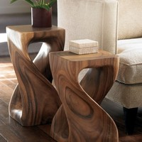 Twisty Stool - VivaTerra