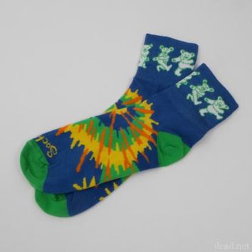 Dancing Bears Tie-Dye Socks | Grateful Dead