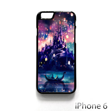 Disney Night Tangled the Lights for Iphone 4/4S Iphone 5/5S/5C Iphone 6/6S/6S Plus/6 Plus Phone case