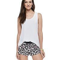 Terry Floral Short