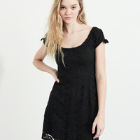 Girls On Or Off The Shoulder Lace Dress | Girls Clearance | HollisterCo.com