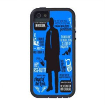 Cas Quotes Supernatural for iphone 5s case