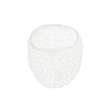White Snood Hair Net