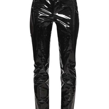 Patent Leather Trousers - HAIDER ACKERMANN