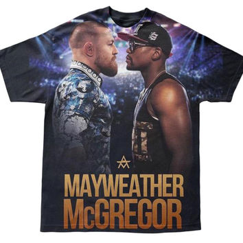 MAYWEATHER VS MCGREGOR TEE