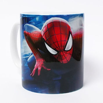 Spiderman Mug Spiderman Cup Kids Mug Milk Cup Spiderman Art Cup Superhero Mug Coffee Mug Birthday Gift Coffee Cup Spiderman Children's Mug