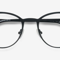 Reunion | Matte Black Metal Eyeglasses | EyeBuyDirect