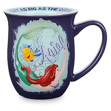 Disney Ariel Story Mug A heart As Big As The Ocean Sip Away Or Dive Right In New