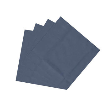 Dark Blue Chambray Napkin Set of 4