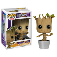 Funko POP! Guardians of the Galaxy Movie - Vinyl Bobble - DANCING GROOT (Pre-Order ships Jan): BBToyStore.com - Toys, Plush, Trading Cards, Action Figures & Games online retail store shop sale