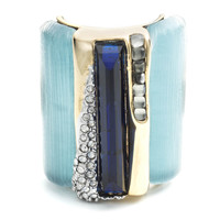 Ombre Cabochon Striped Cocktail Ring | Alexis Bittar