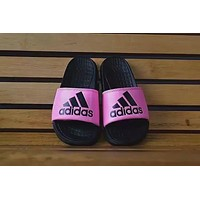 """""""Adidas"""" lazy foot slippers"""