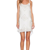 Cleobella Starry Dress in White