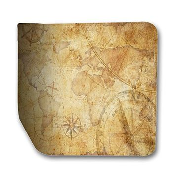 Vintage Old World Map Leather Business Passport Holder Protector Cover_SUPERTRAMPshop