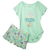 Candy Tee Shirt/Short Pajama Set - Assorted Styles/Colors