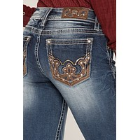 Cowgirl Flare Boot Cut Jeans