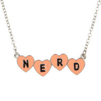 Nerd Heart Necklace
