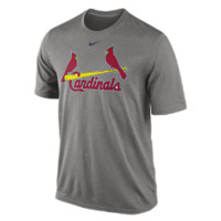 Nike Legend Wordmark (MLB Cardinals) Men's Training Shirt Size XL (Grey)