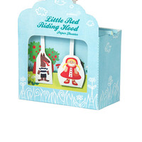 Little Red Riding Hood Paper Theater - DIY Papercraft Kit - Paper Toy