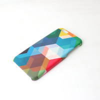 Geometric Colors iPhone Case For - iPhone 6 Plus Case - iPhone 6 Case -iPhone 5C Case - iPhone 5 Case - iPhone 4 Case