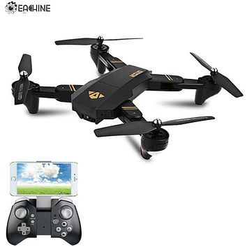 Eachine VISUO XS809HW WIFI FPV With Wide Angle HD Camera High Hold Mode Foldable Arm