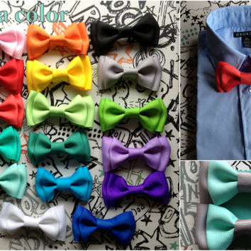 Suspender Bowtie set Seafoam Mint Baby bow tie Suspenders Blue Boys Bowties Red Toddler Necktie Men bowtie Wedding Ring Bearer Outfit birthd