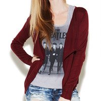 Flyaway Open Cardi | Wet Seal