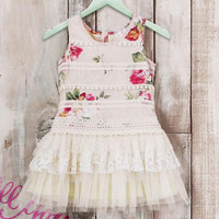 Bunnies Picnic - Baby Sara It's My Birthday Vintage Lace Tutu Dress - Boutique Clothing for Girls and Boys