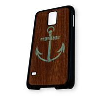 Anchor Wood Logo Samsung Galaxy S5 Case