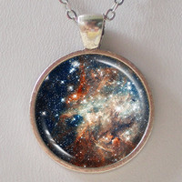 Constellation Necklace -30 Doradus- Galaxy Series