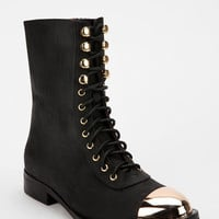 Jeffrey Campbell Zorro Metal Tip Lace-Up Boot