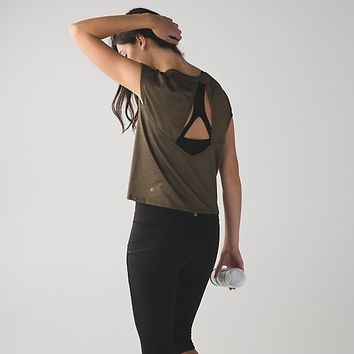 sweaty or not crop tee | women's tops | lululemon athletica